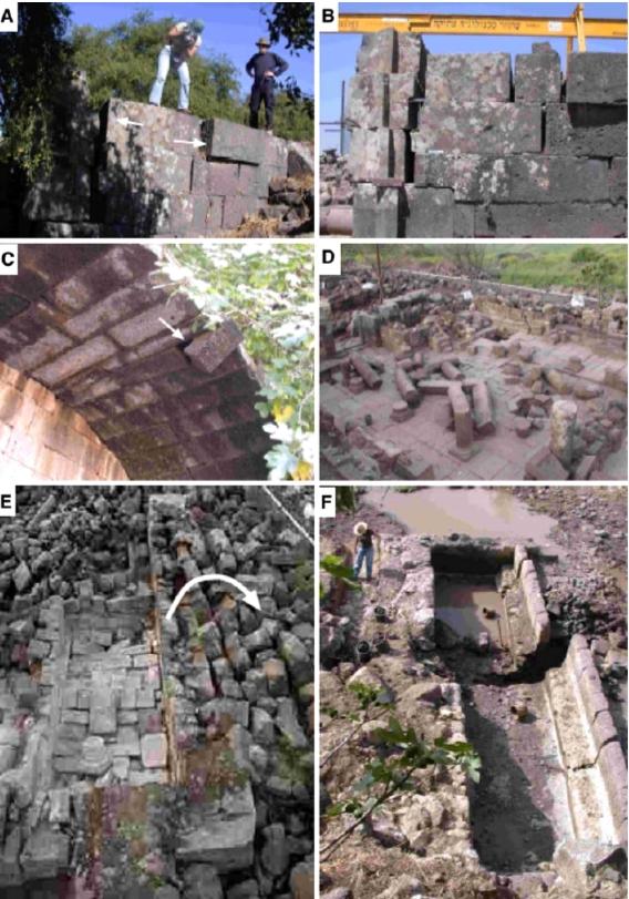 Archeoseismic evidence at Umm el-Qanatir