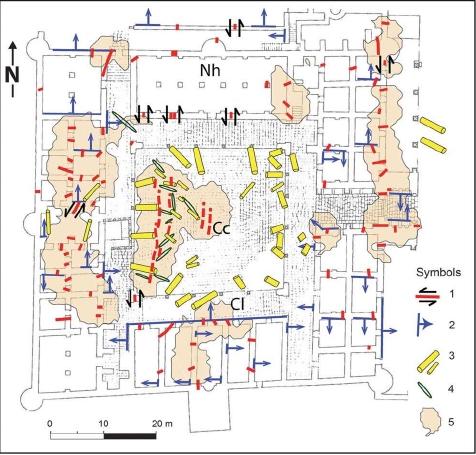 Archeoseismic Map of Hisham's Palace