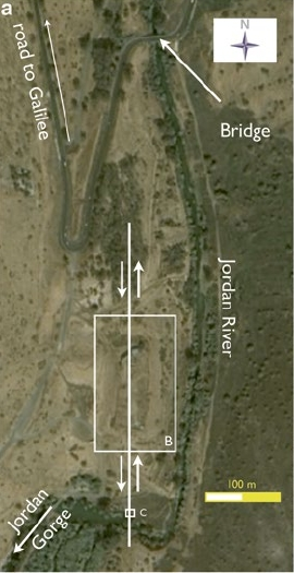 Satellite Photo of Tel Ateret