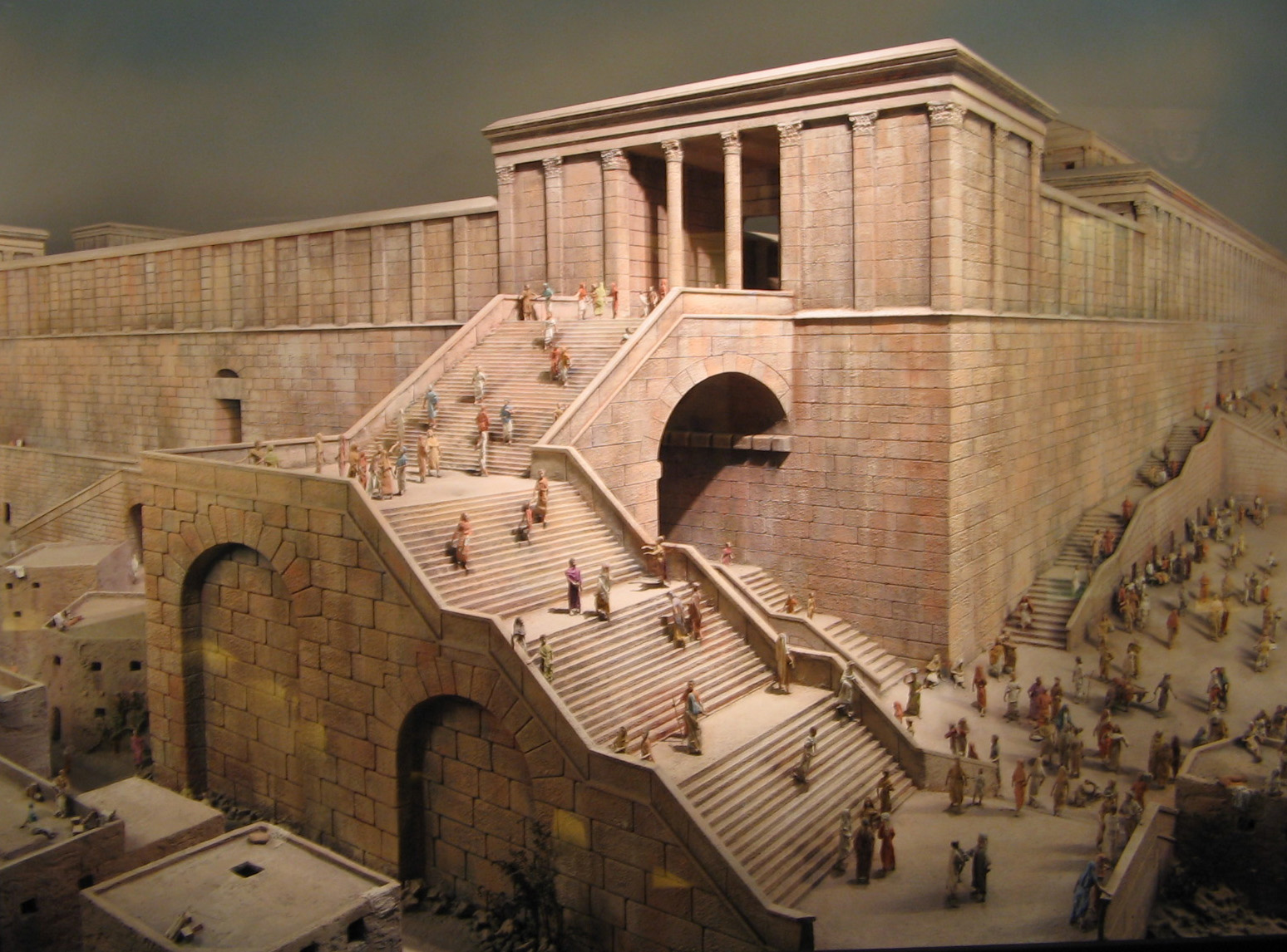 Reconstruction of Robinson's Arch