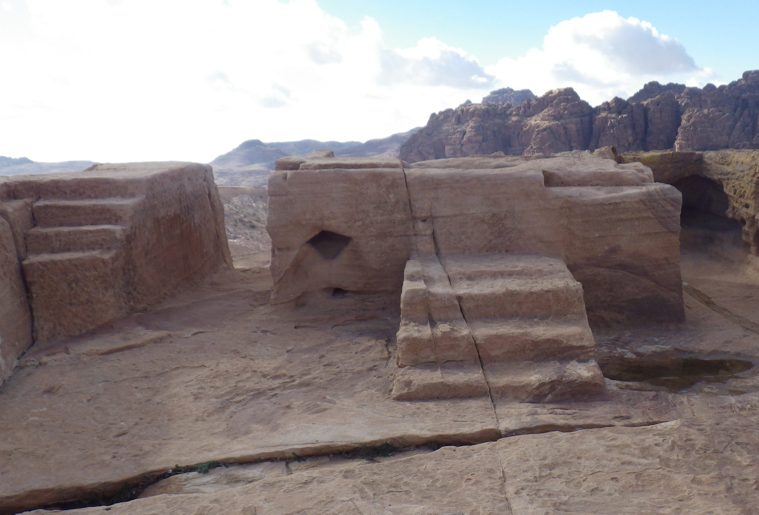 Temple of the High Places in Petra