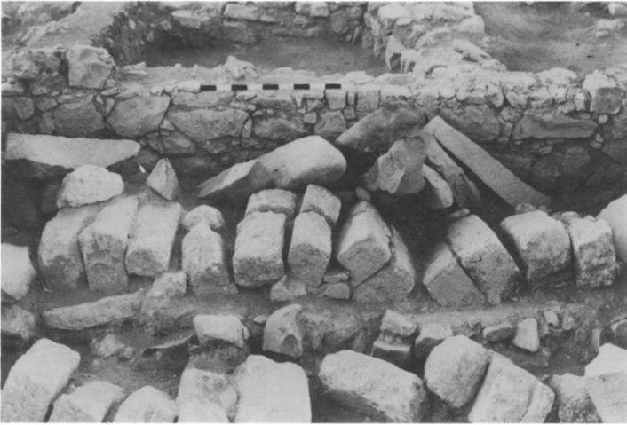 Fallen Roof Arches at Lejjun
