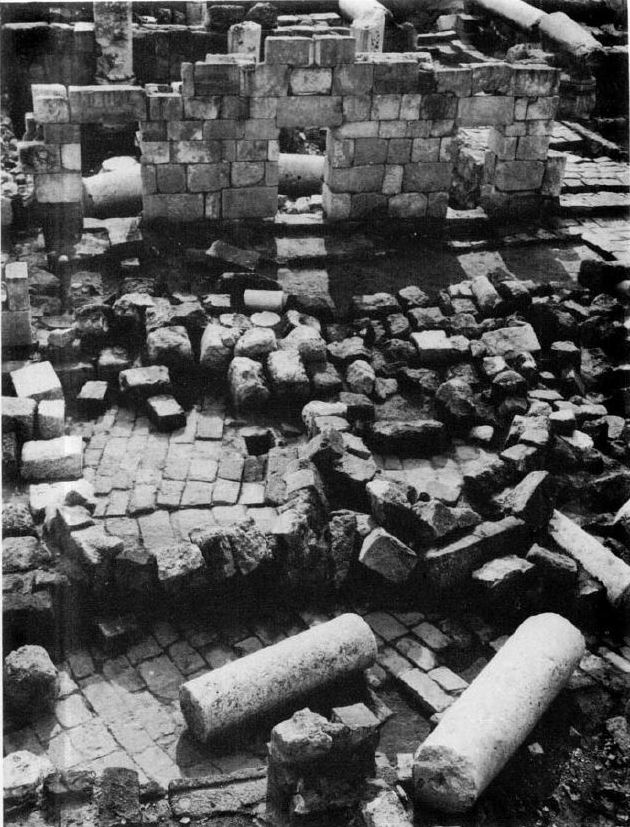 Collapse from mid 8th century CE in Bet She'an