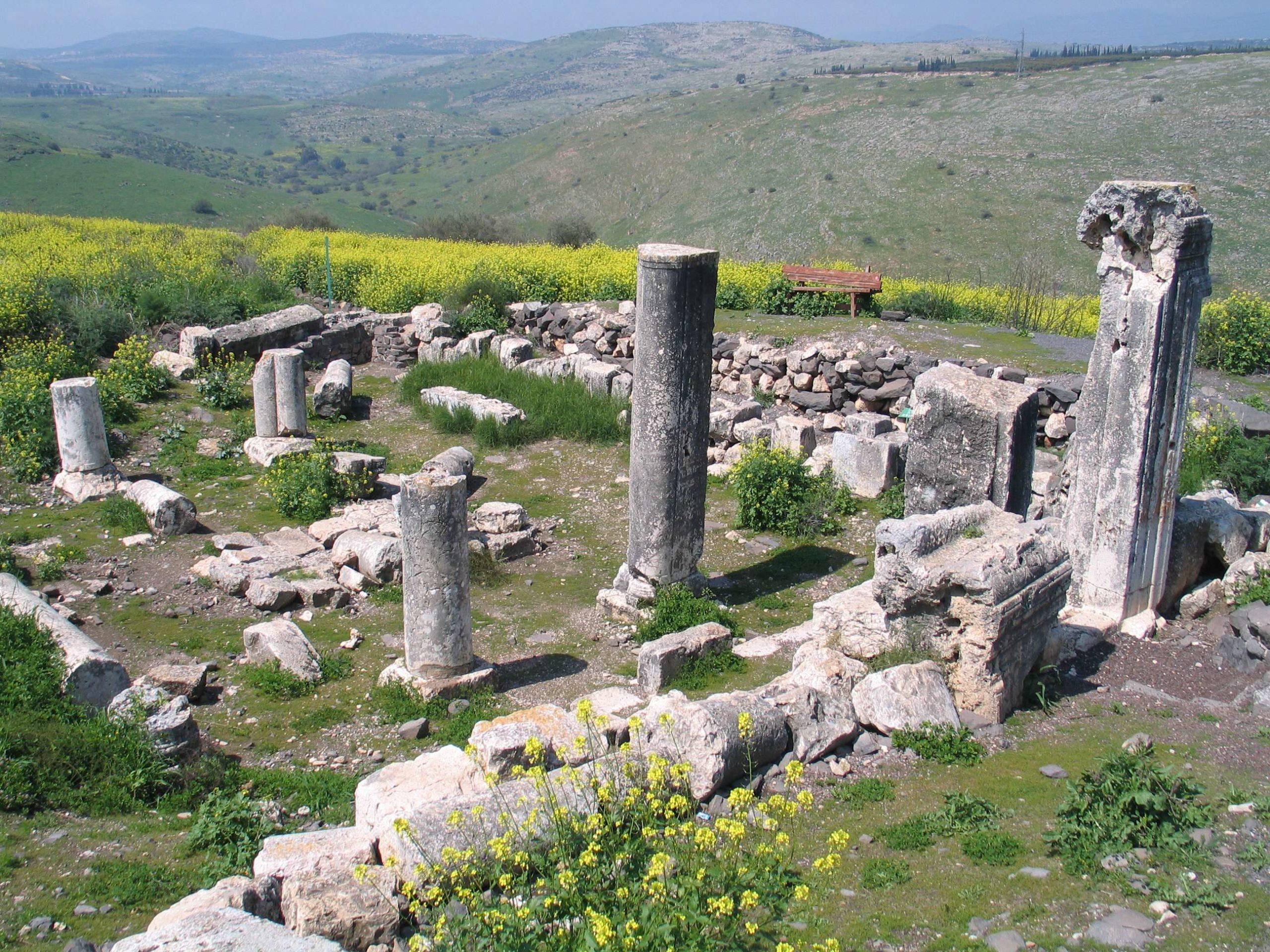 Synagogue Ruins at Arbel