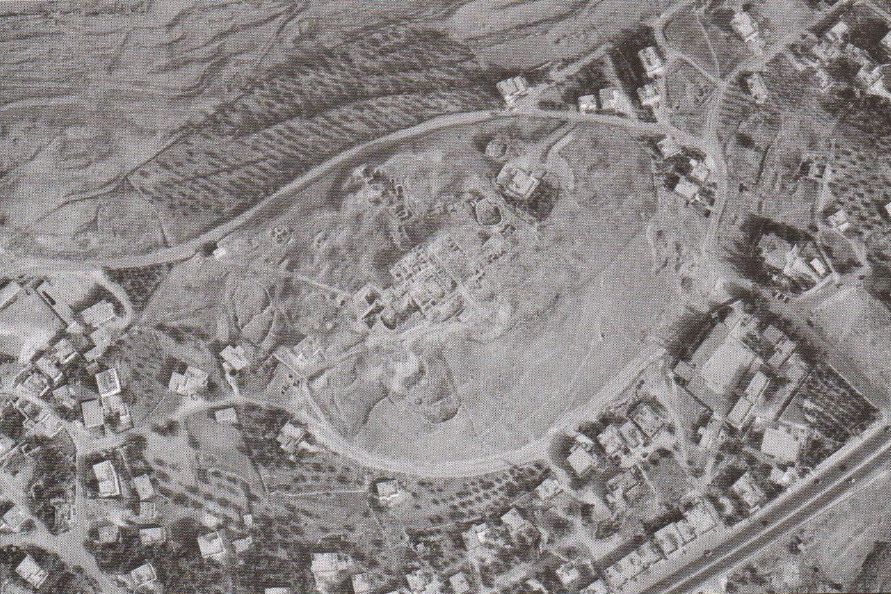 Aerial view of Tall Heshbon